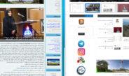 بهبود امکانات و تغییر گرافیک سایت شرکت
