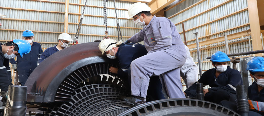 عملیات تعمیرات اساسی سال ۱۳۹۹  شرکت پالایش نفت امام خمینی (ره) شازند با موفقیت به پایان رسید