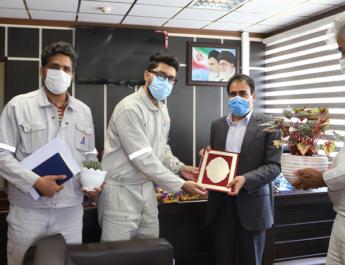 تقدیر و تشکر کارکنان از مدیریت و اعضاء هیئت مدیره شرکت پالایش نفت امام خمینی (ره) شازند