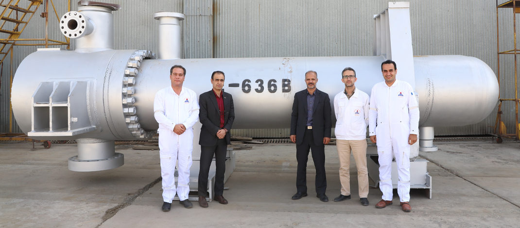 بومی سازی تعمیرات مبدلهای حرارتی فشار بالا در شرکت پالایش نفت امام خمینی (ره) شازند