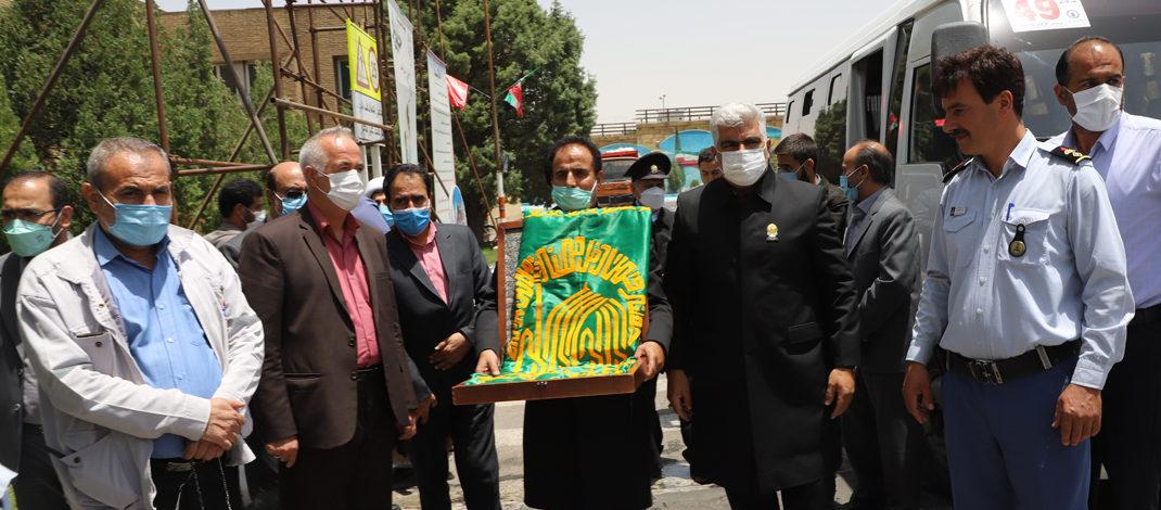 عطر خوش رضوی در پالایشگاه امام خمینی(ره) شازند پیچید